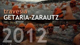 preview picture of video 'Travesía Getaria-Zarautz 2012 desde dentro'