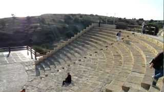 preview picture of video 'Kourion's Greco-Roman theatre, Kourion, Cyprus, Europe'