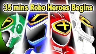 """35 mins Citi Heroes """"Robo Heroes Begins"""""""