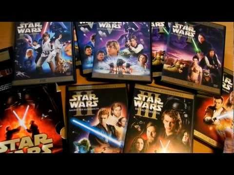 Meine kleine Star Wars (Krieg der Sterne) DVD Sammlung - Episode 1-6