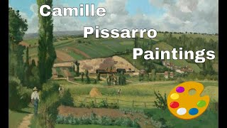 Camille Pissarro - Paintings By Camille Pissarro In The National Gallery Of Art, Washington, D.C. US