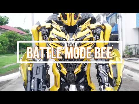 Building a Transformers Bumblebee Cosplay Costume