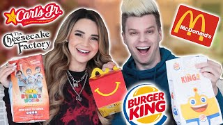 We ONLY ate FAST FOOD Kids Meals for 24 HOURS!