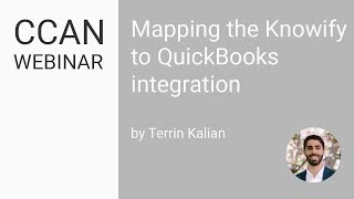 Mapping the Knowify to QuickBooks Integration