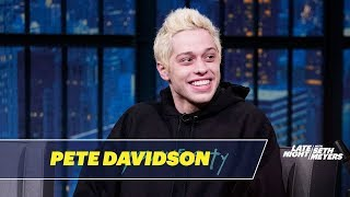 Pete Davidson Shares a Pet Pig with Ariana Grande
