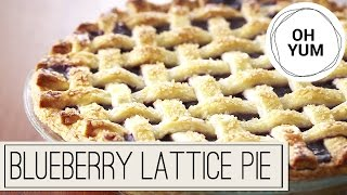 How To Bake The ULTIMATE Blueberry Pie!