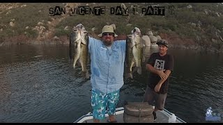 Bass Fishing San Vicente Opening Weekend with Jeff, John, and Ejay - Day 1 Part 3