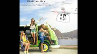 RC Drone Quadcopter With 1080P Wifi FPV Camera RC Helicopter 20-25min Flying Time