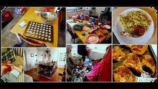 DITL: COOKING, CLEANING, BAKING & Party PREP!