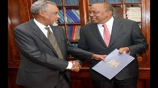 A HOSTAGE PRESIDENT: The handshake and BBI has left Uhuru holding two tigers by the tail