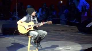 "Austin Mahone: ""Let Me Love You"" Acoustic- San Antonio Rodeo 2013"