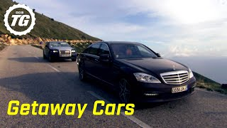 Getaway Cars | Top Gear | BBC