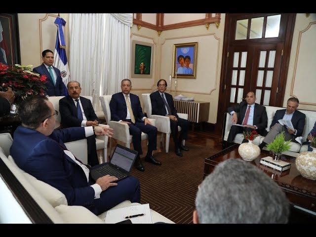 Presidente Medina pasa balance sobre recaudaciones 2018 y proyecciones 2019