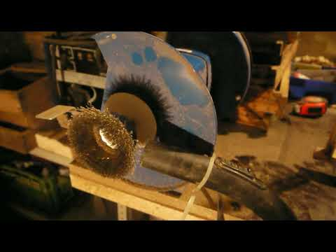 Мастерская пчеловода. Механическая очистка рамок.  Простое пасечное приспособление
