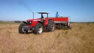 Plantio de soja 2013... MF 4299 e MF 511.... Agrop. Daronco