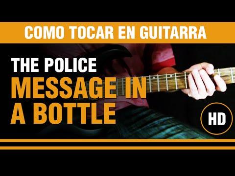 Como tocar Message in a Bottle de The Police en guitarra. CLASE TUTORIAL