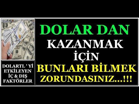 DOLAR DA KAZANMAK İÇİN BUNLARI BİLMEK ZORUNDASINIZ...!!! (видео)