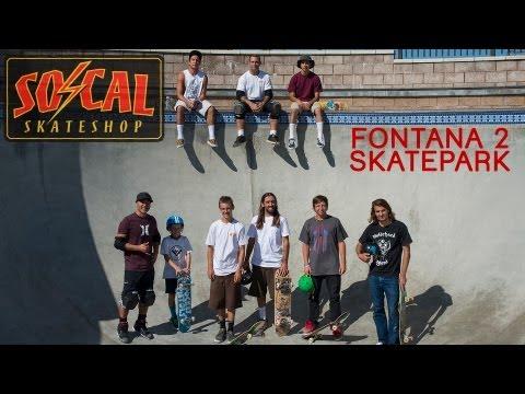 SOCAL SKATE SHOP TEAM DAY FONTANA 2 SKATEPARK