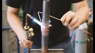 Kupfer-Messing Verbindungen Mit Silberlot