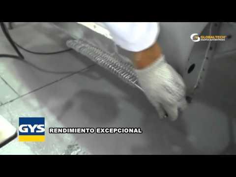 GYS LINEA SPOTTERS-DESABOLLO TECNOLOGIA FRANCESA EN SOLDADURA GLOBALTECH ECUADOR