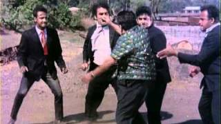 Furious Arm Wrestling Of Joy Mukherjee  Hindi Thriller Aag Aur Daag