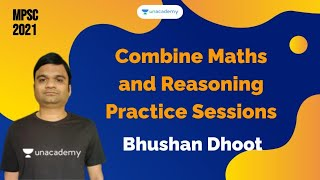 Combine Maths and Reasoning Practice Sessions Bhushan Dhoot ...