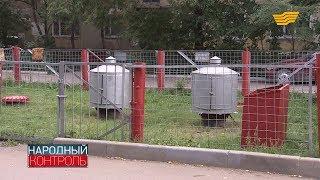 Жители столичного ЖК жалуются на запах газа во дворе