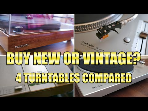 All About Turntables in 2019 - new or vintage? 4 models compared!