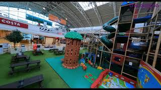 DJI FPV! Shopping mall flight | Spatial awareness attempt!