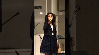 In Christ Alone my hope is found.. Keren singing in English/Tamil