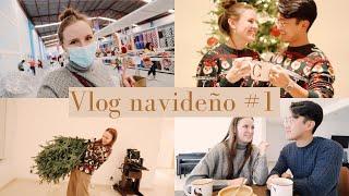 ¡PONIENDO EL ARBOLITO DE NAVIDAD!  Vlog Navideño #1