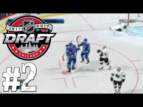 NHL 18   Koblih Centrem - #2   Vstupní DRAFT NHL!   CZ/SK