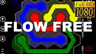 Flow Free: Hexes Game Review 1080P Official Big Duck Games  Puzzle 2016