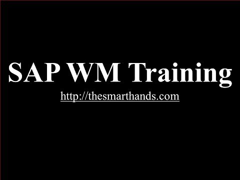 SAP WM Training | SAP WM Warehouse Management