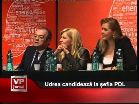 Udrea candidează la șefia PDL