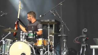 The Ting Tings - Green Poison (Brussel Summer Festival 20/08/2015)