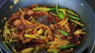Chili paprika marhával recept