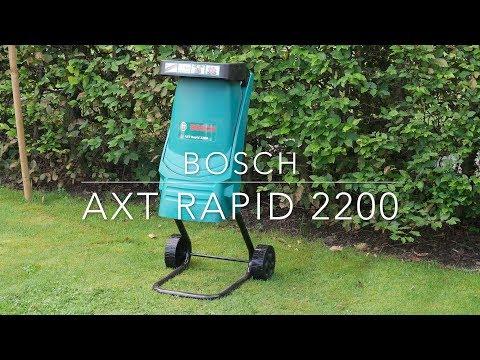 Biotrituradora BOSCH AXT Rapid 2200