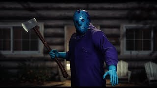 Friday the 13th: The Game - RETRO JASON GAMEPLAY