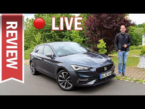 Seat Leon 1.5 eTSI im Live Test: Innenraum, Motor, Assistenz, Verbrauch & Vergleich Golf!