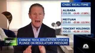 Les actions chinoises de la technologie et de l'éducation chutent après la pression réglementaire