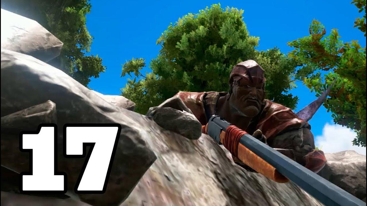 EL FRANCOTIRADOR!! ARK: Survival Evolved #17