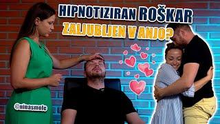 HIPNOTIZIRAN ROŠKAR: Se je zaljubil v Anjo?!
