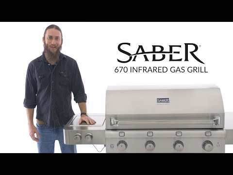 Saber 670 Infrared Stainless Steel Gas Grill Review