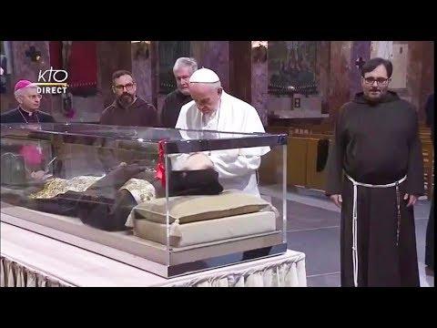 Visite du Pape François à San Giovanni Rotondo : concélébration eucharistique