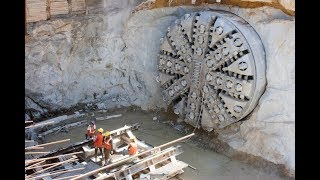 Mega Tunnel Boring Machines in Action