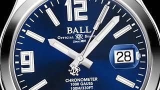 BALL WATCH首枚904L精鋼腕錶現正發售
