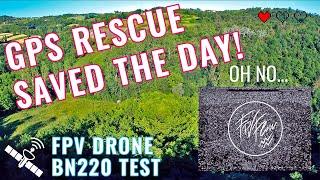 "GPS rescue TEST | Beitian BN220 | Mid range FPV drone 5"""