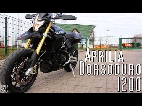 Aprilia Dorsoduro 1200 | Startup | Rev | Walk around | Drive by | Sound