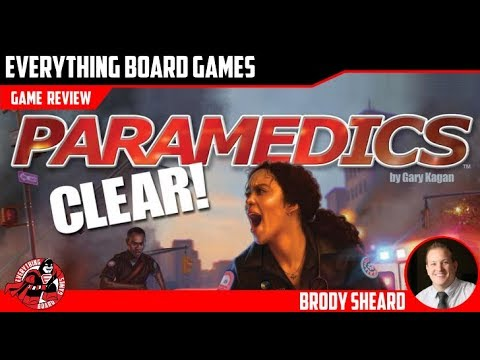 Everything Board Games Paramedics Clear! Review